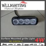 supporto della superficie degli indicatori luminosi d'avvertimento dello stroboscopio di 4W LED