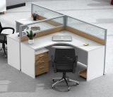 Divisorio di legno dell'ufficio della mobilia 2 della stazione di lavoro moderna delle sedi (HX-NCD336)