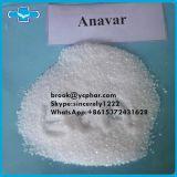안전한 납품 경구 스테로이드 신진 대사 호르몬 처리되지 않는 분말 Anavar