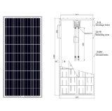 Le panneau solaire le meilleur marché de picovolte de 150 watts pour le système solaire