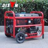 バイソン((h) 4kw 4kVA 220V 50Hz中国) BS5500tは1年の保証小さいMOQガス配達発電機の絶食する