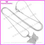 Ijd8051 Wholesale preiswerte Basisrecheneinheits-Edelstahl-Verbrennung-hängenden Halsketten-Speicher-Halsketten-Aschen-Andenken-Halter