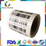 Изготовленный на заказ стикер бумаги переноса печатание ярлыка продукта термально напечатанный прилипателем