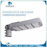 L'alluminio di fusione sotto pressione di CA 60 millimetri sceglie l'indicatore luminoso di via esterno del braccio LED