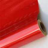 Película reflexiva de acrílico roja