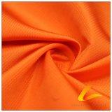 agua 75D y de la ropa de deportes tela punteada diamante tejida chaqueta al aire libre Viento-Resistente 100% de la pongis del poliester del telar jacquar abajo (E050F)