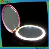 круглый крен силы зеркала конструкции 4400mAh с освещением СИД