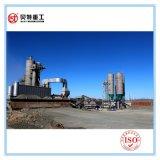 Trockenere Trommel-heiße Mischung 160 t-/hUmweltschutz-Asphalt-Mischanlage mit niedriger CO2-Emission