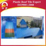 folha plástica da telhadura do PVC de 1.0-3.0mm com 10 anos de garantia