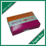 Bunter Auslegung-Qualitätskrapfen-Papierkasten