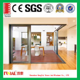 Porte coulissante en verre pour la construction et la décoration de Chambre
