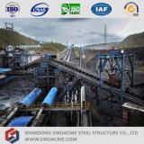 Estrutura de aço para transportador de cinto