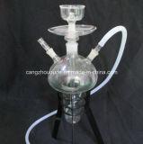 Tobacco Glass Shisha Hookah with Iron Shelf