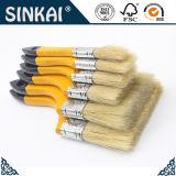 Самая лучшая продавая желтой ручки Pur белая щетинки щетка 100% краски