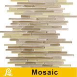 Mosaico horizontal caliente del vidrio cristalino de la mezcla de la venta 8m m para la serie del horizonte de la decoración de la pared (horizonte S B01/B02/B03/B04/B05)