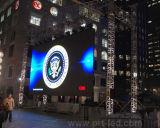Dünner Stärke P6 farbenreicher LED-Bildschirm für im Freienmiete
