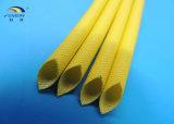 La fibre de verre de silicones de température élevée gainant pour des isolants ignifugent et respectueux de l'environnement