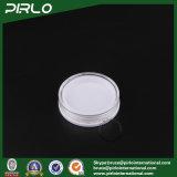 5g venden al por mayor el tarro plástico poner crema cosmético vacío de la sombra de ojo con el casquillo claro