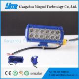 12V 24V LED Lightbar 36W 크리 사람 LED 일 표시등 막대