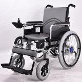 Modelo de acero Gt01152 del sillón de ruedas eléctrico de la salida del color rápido del negro