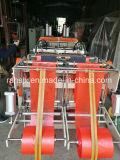 200PCS/Min Scherpe Machine van de Hitte van de Zak van de T-shirt van Twee Lijnen de Automatische