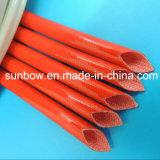 стеклоткань силиконовой резины утверждения UL 7kv Sleeving для изолировать провода