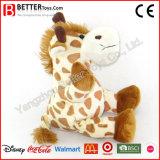 Het gevulde Stuk speelgoed van de Giraf van de Dieren van de Pluche Zachte voor de Jonge geitjes van de Baby