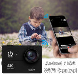 Sport der Vorgangs-Kamera-ultra HD 4k WiFi 2.0 LCD 170d geht PROkamera wasserdichte