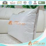 Ganso blanco de lujo abajo de la almohadilla lavada almohadilla de tres compartimientos