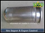 De Filters van het Netwerk van de Draad van het roestvrij staal, de Geperforeerde Filter van Water 304