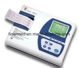 Máquina médica da canaleta ECG do Portable 12