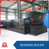 Caldaia della griglia della catena infornata biomassa orizzontale dell'acqua calda del carbone
