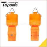 Única luz de advertência de segurança de tráfego da bateria (S-1315)