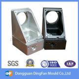 Pieza de aluminio de la pieza del CNC de la alta precisión que trabaja a máquina con el color anodizado