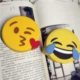 carregador da imagem dos desenhos animados do banco da potência de Emoji do unicórnio 2600mAh