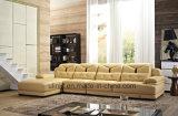 Sofà di cuoio moderno del salone della mobilia domestica (UL-NS205)