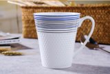 Taza caliente del té del café de China de hueso de la multa del jardín de la venta