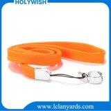 Lanyard tubular de nylon personalizado con gancho E-Cig Muestra gratis