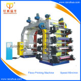 Machine van de Druk van de plastic Film Flexographic Veelkleurige