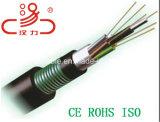 Кабель оптического волокна Gyxta пробки кабеля связи центральный свободный