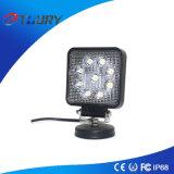 luz de la lámpara del trabajo de 27W Squre LED para el alimentador SUV