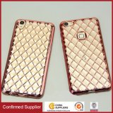Soft Decorated Diamond Plating TPU Cell Phone Case