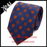 Jacquard 100% de seda Handmade qualidade elevada tecida das gravatas
