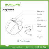 Massager eléctrico del pie de Multifuction de la calefacción de la presión de aire del rodillo con el adaptador