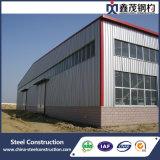 Almacén porta de la estructura de acero del marco de la alta calidad prefabricada