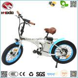 En15194 vendent la grosse batterie au lithium d'E-Vélo de pédale de bicyclette de pneu de mini du pliage 350W vélo électrique de ville Vvehicle pliable
