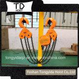 10 het Blok van de Keten van de ton 3 van het Essentiële Meters Hijstoestel van de Ketting/het HandBlok van de Ketting