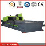 CNC do aço inoxidável e do metal de folha que sulca a máquina
