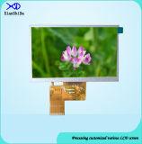 Volle Bildschirmanzeige des Betrachtungs-Winkel-5.0 des Zoll-TFT LCD mit Helligkeit 480CD/M2 LCD-Bildschirm