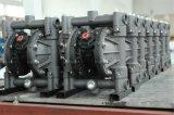 색칠 공기에 의하여 강화되는 격막 펌프